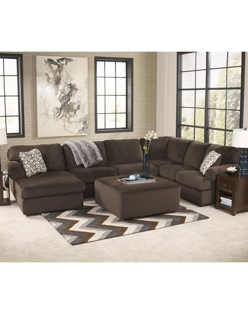Ashley Zella Sectional In Charcoal Austin S Furniture Depot