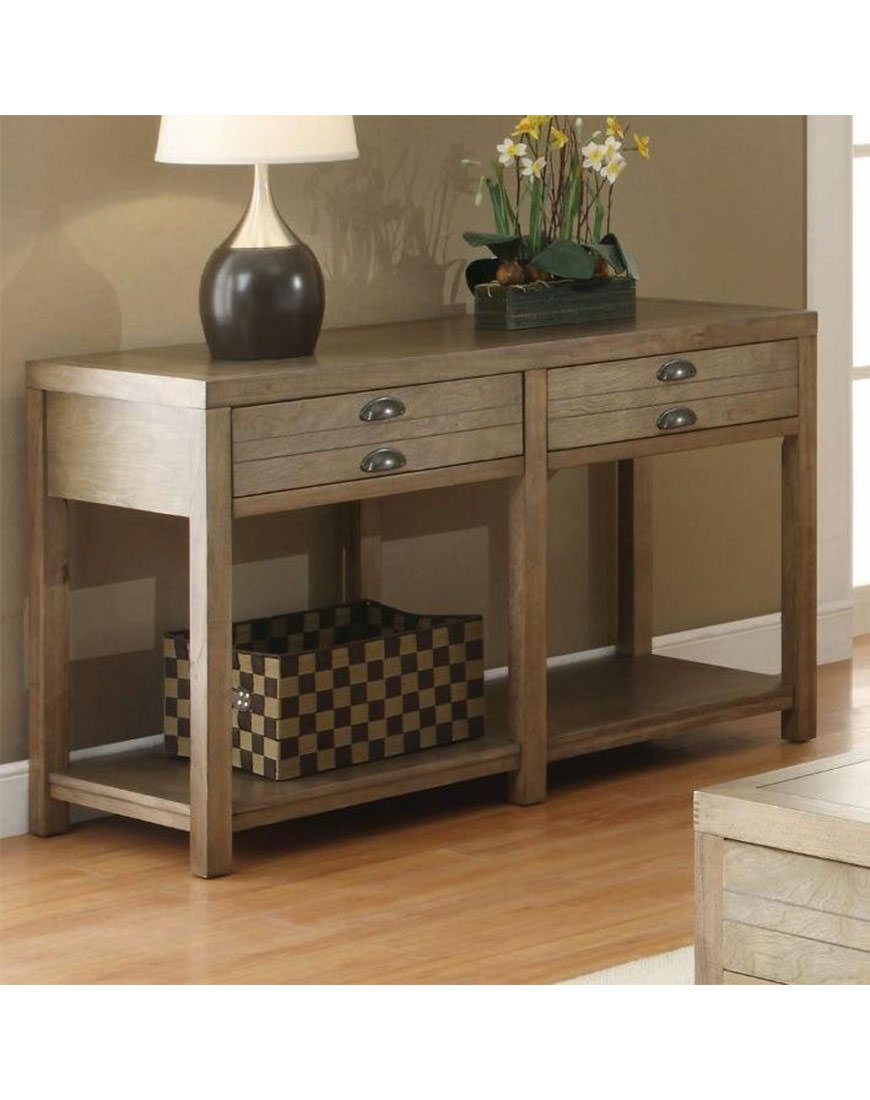 Coaster Cottage Sofa Table With Two Drawers Austin S Furniture Depot