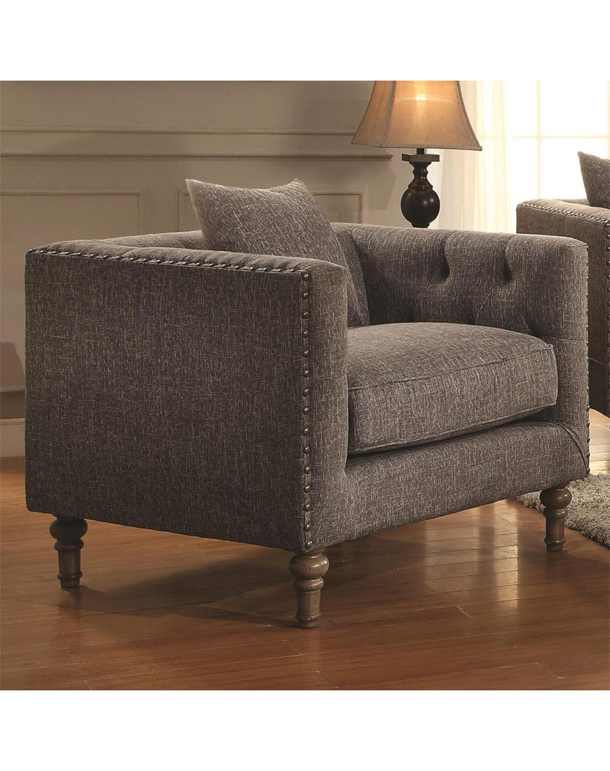 Coaster Ellery Chair With Traditional Industrial Style