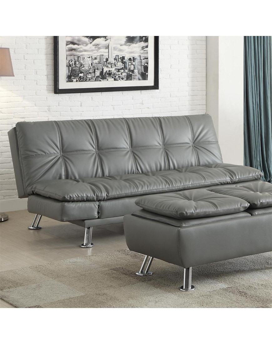 Coaster Dilleston Sofa Bed In Futon Style