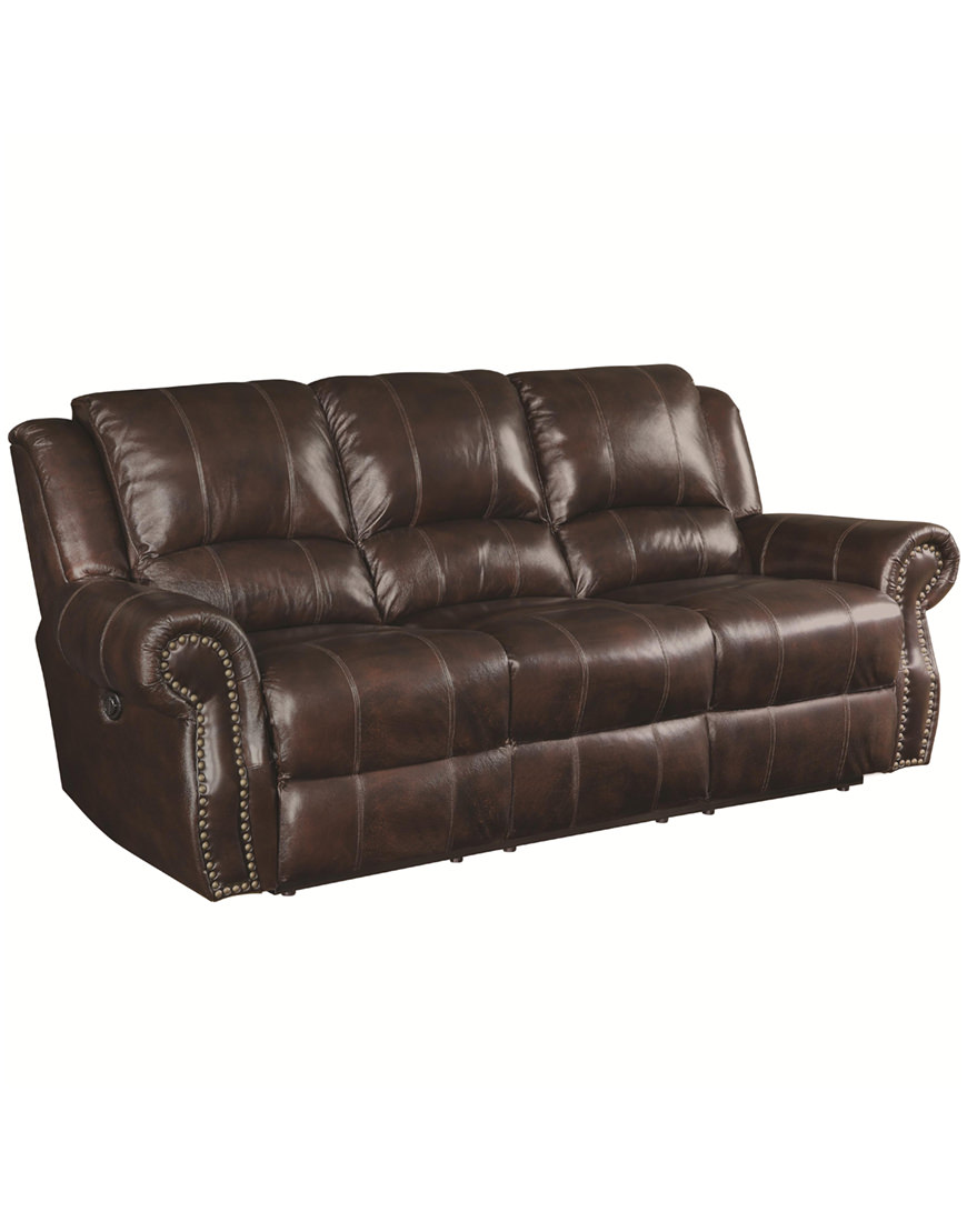 Magnificent Coaster Sir Rawlinson Traditional Reclining Sofa Home Interior And Landscaping Palasignezvosmurscom