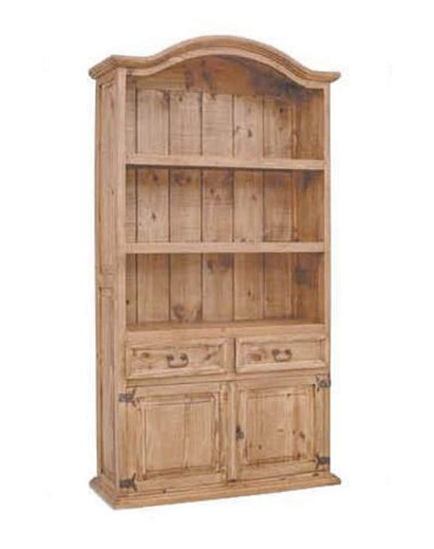 Million Dollar Rustic Bookcase With 2 Door 2 Drawer Austin S