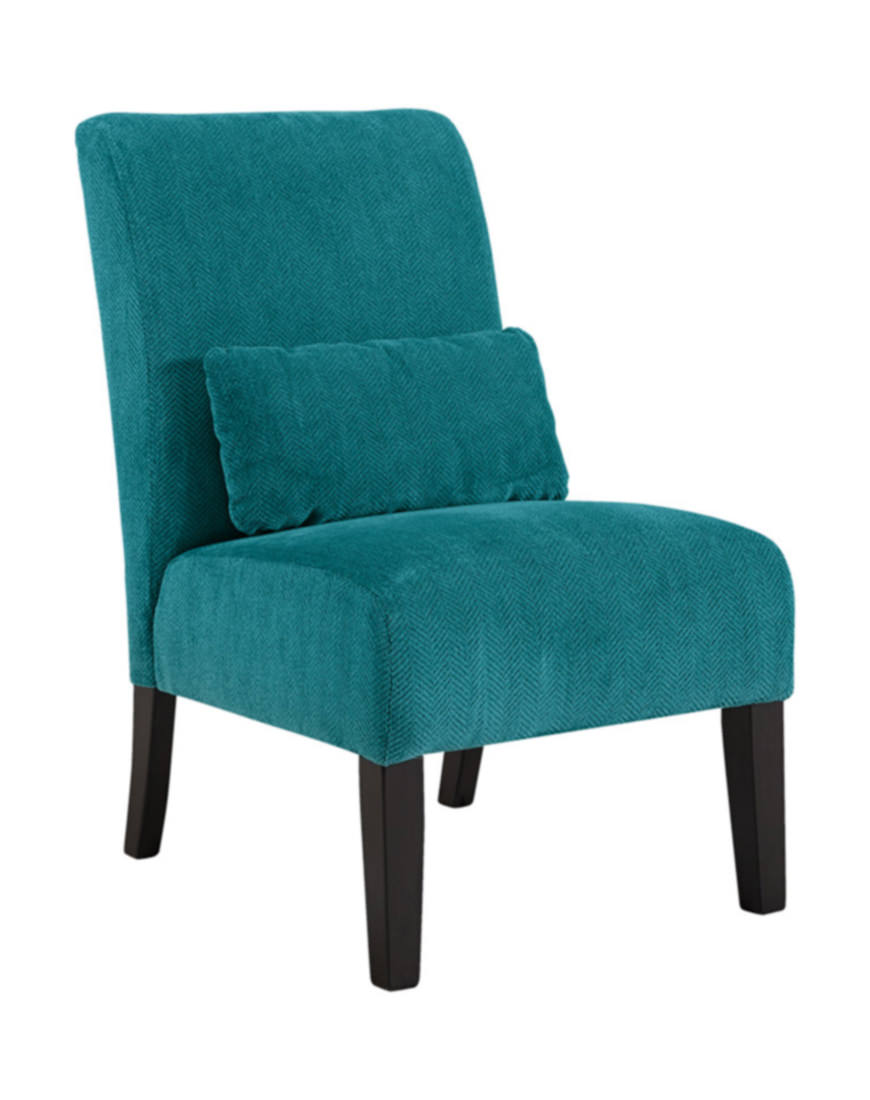 Outstanding Ashley Annora Accent Chair In Teal Caraccident5 Cool Chair Designs And Ideas Caraccident5Info