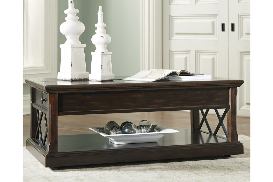 Ashley Roddinton Coffee Table With Lift Top Austin S Furniture Depot