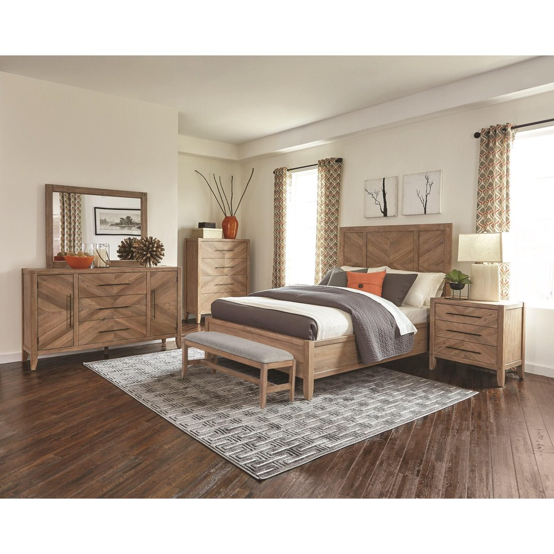 Coaster auburn bedroom collection