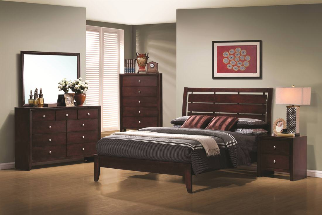 Coaster Serenity Queen Platform Style Bed With Cut Out