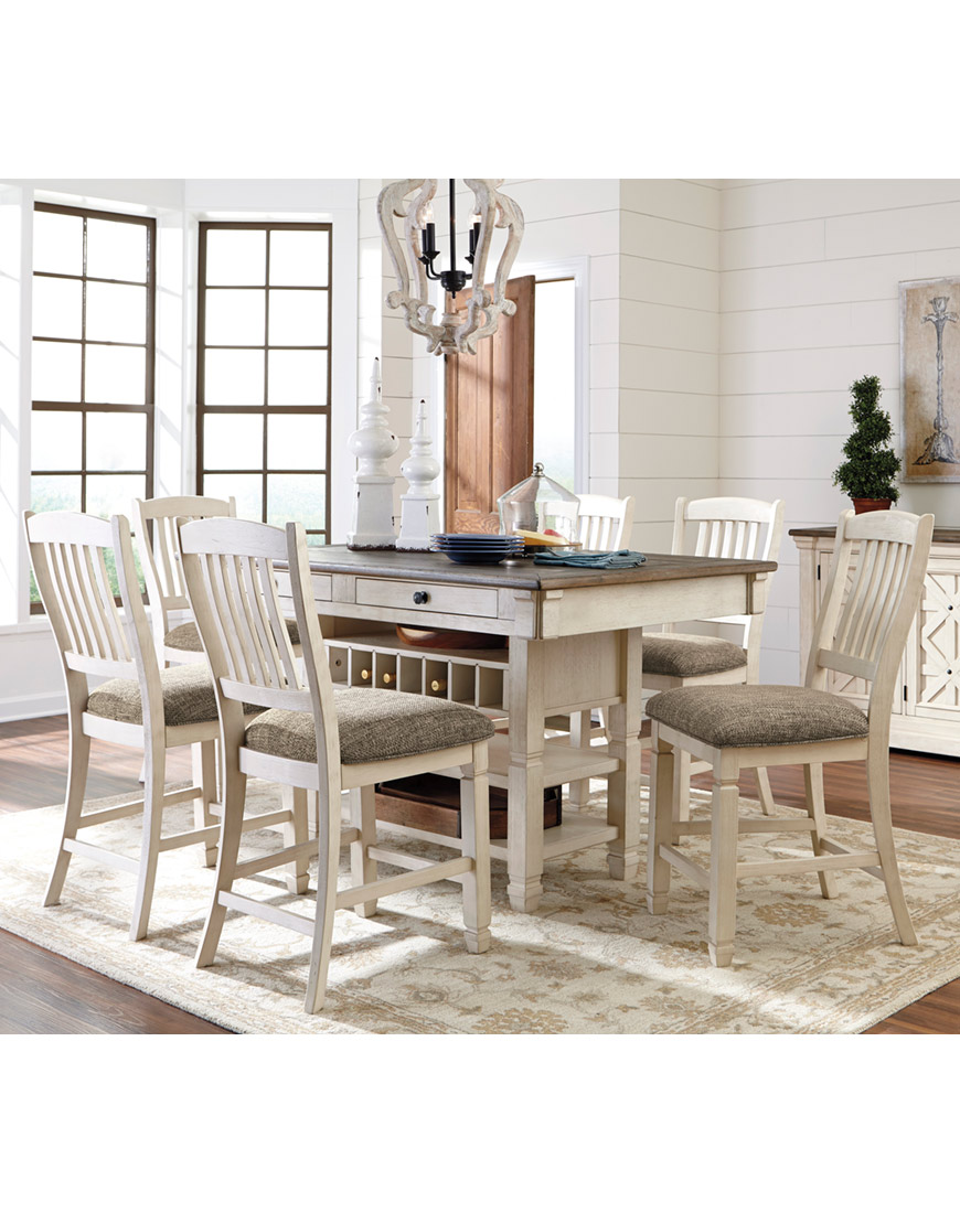 Ashley Bolanburg 7-Piece Counter Dining Room