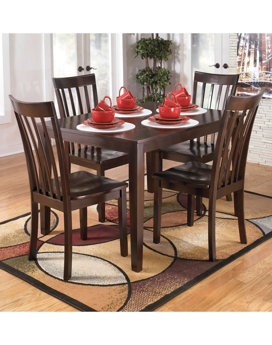 Ashley Hyland Dining Room Table and Chairs (Set of 5)