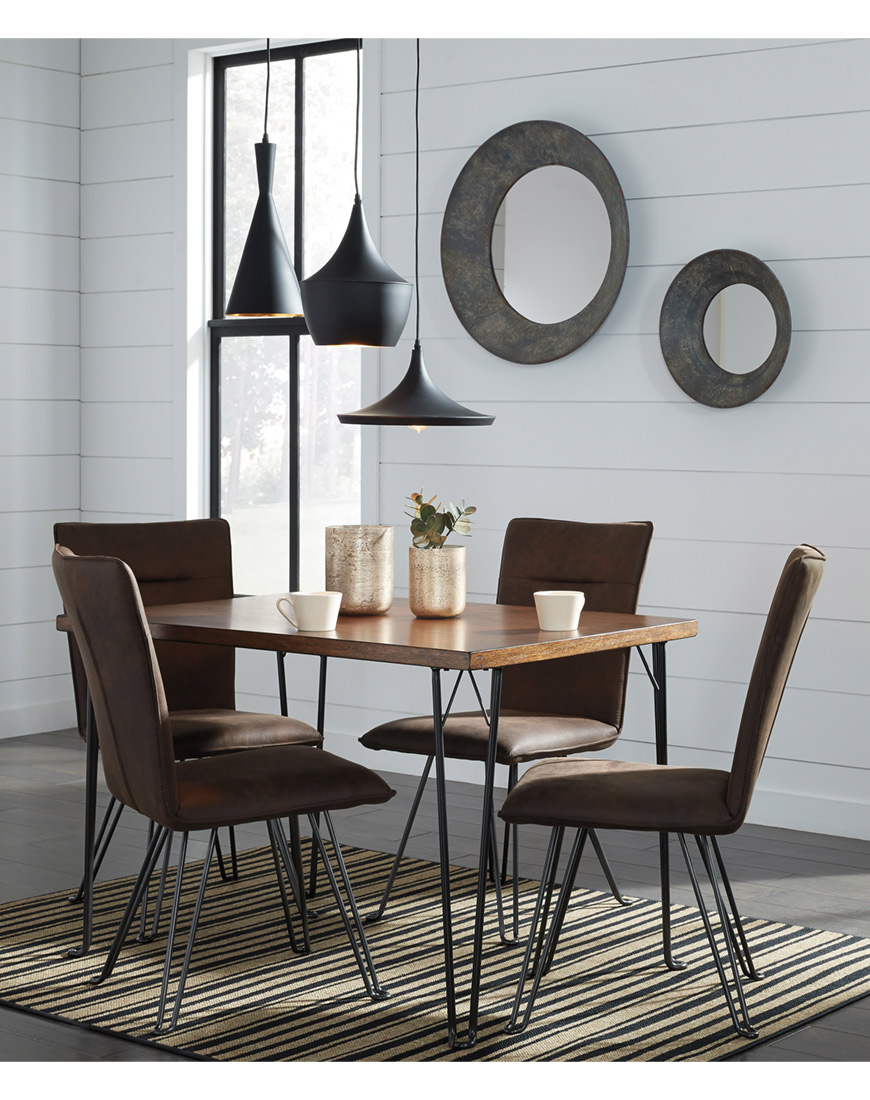 Ashley Moddano 5-Piece Dining Room