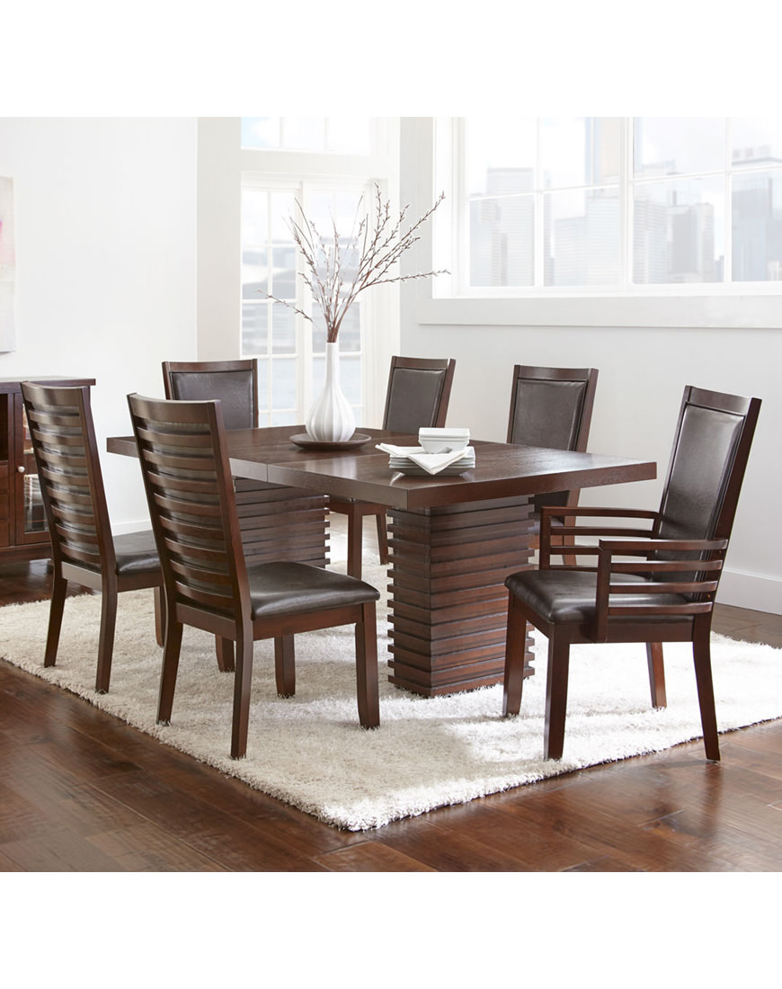 Steve Silver Briana 7pc Dining Set With Briana Chairs Austin S